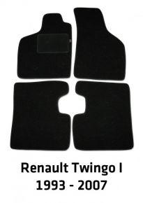 Autokoberce velurové pro Renault Twingo I, 1993-2007