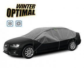Ochranná plachta WINTER OPTIMAL na skla a střechu automobilu Jaguar X-type sedan d. 280-310 cm