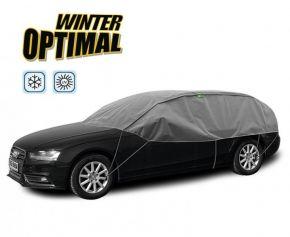 Ochranná plachta WINTER OPTIMAL na skla a střechu automobilu Jaguar X-type kombi d. 295-320 cm